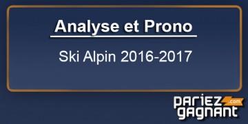 PRONO ski alpin et analyse d'avant saison 2016-2017