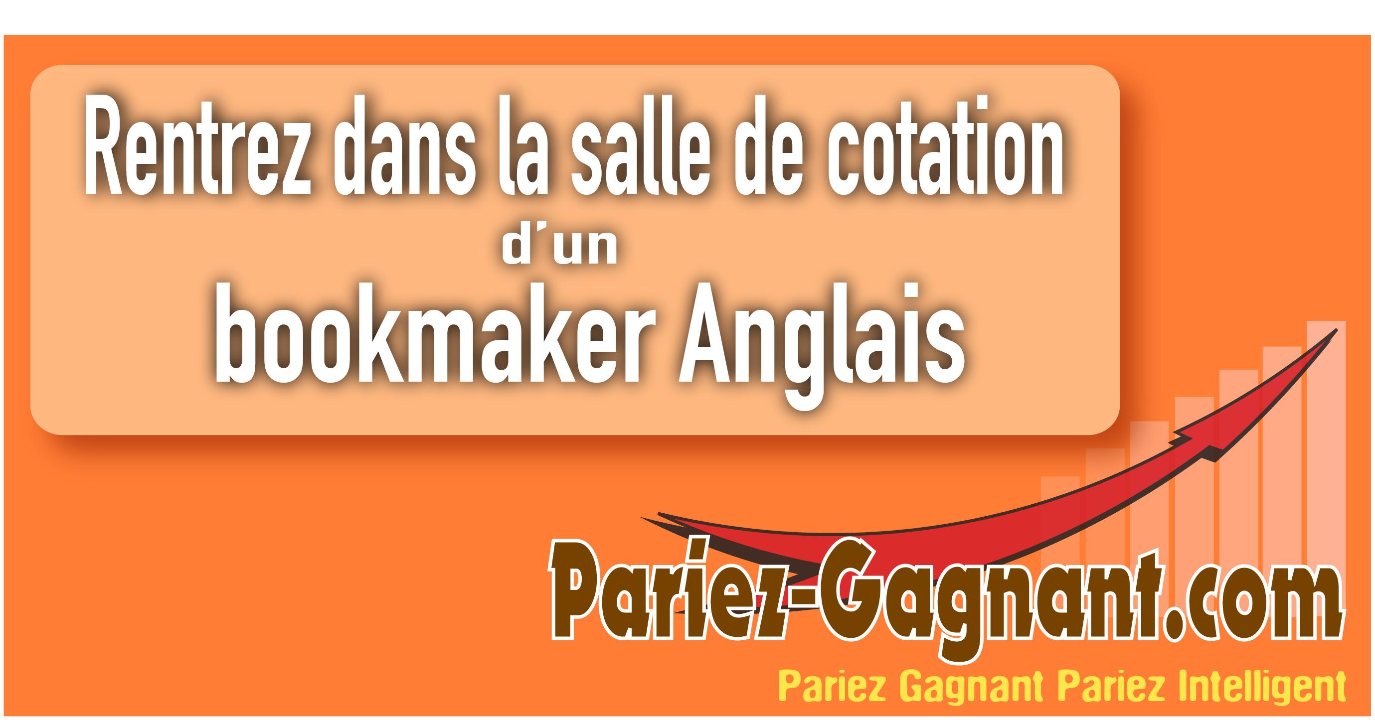 bookmaker anglais