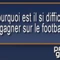 gagner de l'argent pronostics football