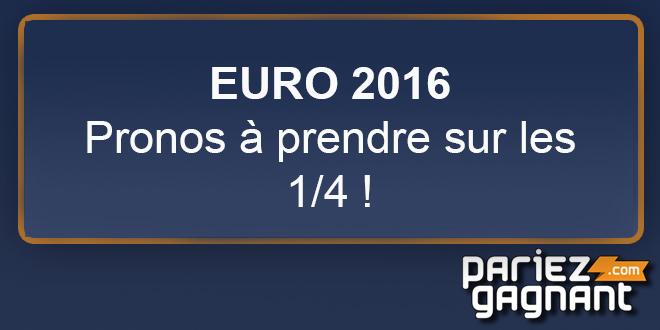 Pronos euro 2016 quart de finale