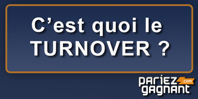 turnover définition