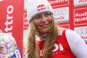 lindsey vonn prono ski alpin