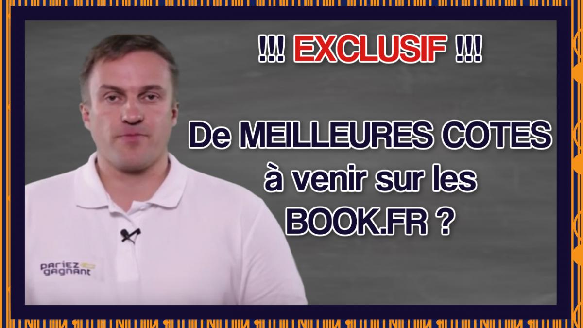 meilleures cotes book.fr